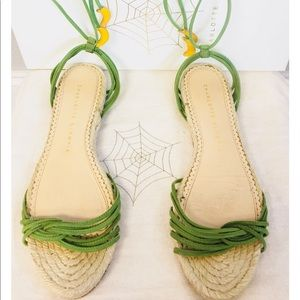 Charlotte Olympia Sandals with banana 🍌 tassels